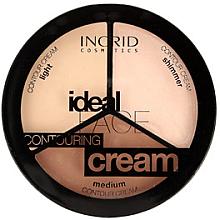 Parfémy, Parfumerie, kosmetika Konturovací paleta na obličej - Ingrid Cosmetics Ideal Face Countouring Cream