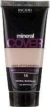 Parfémy, Parfumerie, kosmetika Tónalní krém s minerály - Ingrid Cosmetics Mineral Cover Make Up Foundation