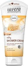 Parfémy, Parfumerie, kosmetika Krémový gel do sprchy - Lavera Silky Shower Cream with Organic Almond and Honey