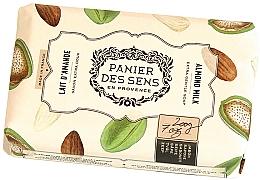Parfémy, Parfumerie, kosmetika Extra jemné mýdlo s bambuckým máslem Mandle - Panier des Sens Shea Butter Soap Almond Milk