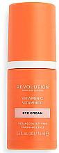 Parfémy, Parfumerie, kosmetika Oční krém s vitamínem C - Revolution Skincare Vitamin C Eye Cream