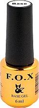 Parfémy, Parfumerie, kosmetika UV Podkladová báze na nehty - F.O.X Base Strong Gel