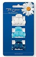 Parfémy, Parfumerie, kosmetika Sponka do vlasů 24115, bílá, světlemodrá, modrá - Top Choice