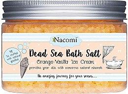 Parfémy, Parfumerie, kosmetika Koupelová sůl z Mrtvého moře s vůní pomeranče a vanilky - Nacomi Dead Sea Bath Salt