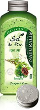 Parfémy, Parfumerie, kosmetika Koupelová sůl na nohy - Naturalis Sel de Pied Juniper And Pine Foot Salt