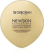 Parfémy, Parfumerie, kosmetika Kompaktní pudr-báze na obličej - Deborah New Skin Compact Foundation