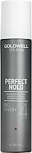 Parfémy, Parfumerie, kosmetika Sprej pro objem vlasů se silnou fixací - Goldwell Style Sign Perfect Hold Big Finish Volumizing Hairspray