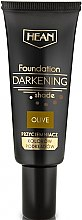 Parfémy, Parfumerie, kosmetika Zatemňující podkladová báze pod make-up, olivová - Hean Darkening Shade