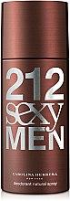 Parfémy, Parfumerie, kosmetika Carolina Herrera 212 Sexy Men - Deodorant