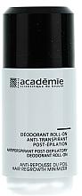 Parfémy, Parfumerie, kosmetika Deodorant antiperspirant po epilaci - Academie Acad'Epil Deodorant Roll-on Specifique Post