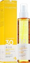 Parfémy, Parfumerie, kosmetika Opalovací olej sprej na tělo a vlasy - Clarins Huile-en-Brume Solaire SPF 30