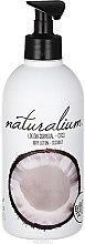 """Parfémy, Parfumerie, kosmetika Výživné tělové mléko """"Kokos"""" - Naturalium Body Lotion Coconut"""