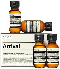 Parfémy, Parfumerie, kosmetika Sada - Aesop Arrival Travel Kit (shm/50ml + cond/50ml + sh/gel/50ml + balm/50ml)