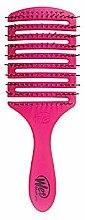 Parfémy, Parfumerie, kosmetika Kartáč na vlasy, růžový - Wet Brush Flex Dry Paddle