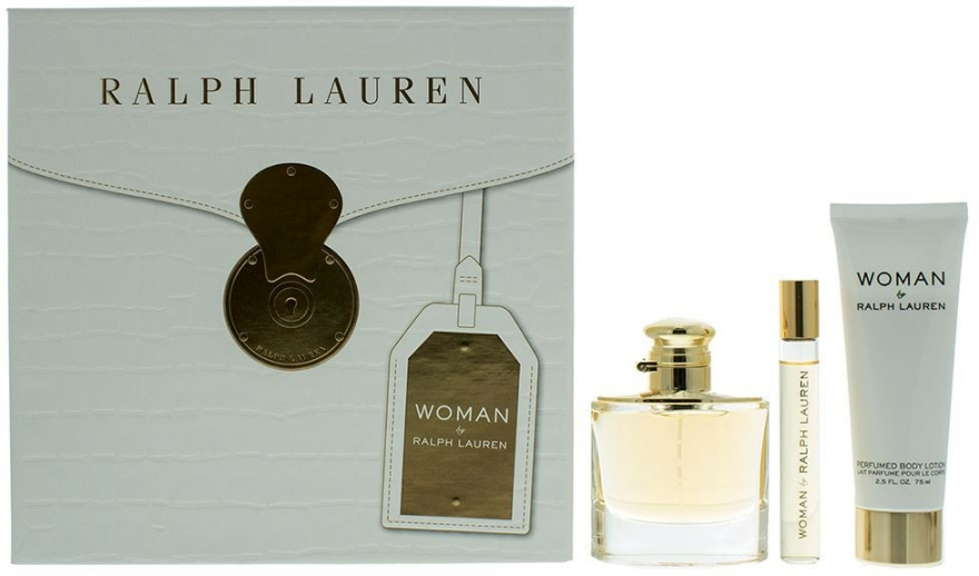 Ralph Lauren Woman By Ralph Lauren - Sada (edp/50ml+edp/10ml+b/lot/75ml)
