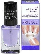 Parfémy, Parfumerie, kosmetika Bělicí přípravek na nehty - Artdeco Nail Whitener Classic
