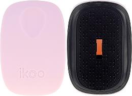 Parfémy, Parfumerie, kosmetika Kartáček na vlasy - Ikoo Pocket Black Cotton Candy