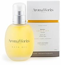 Parfémy, Parfumerie, kosmetika Koupelový olej - AromaWorks Serenity Bath Oil