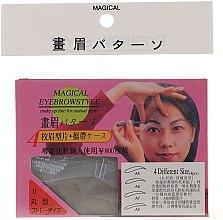 Parfémy, Parfumerie, kosmetika Šablony na obočí A5, A6, A7, A8 - Magical Eyebrow Style