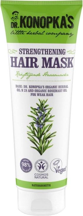 Zpevňující maska na vlasy - Dr. Konopka's Strengthening Hair Mask — foto N1