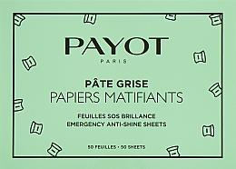 Parfémy, Parfumerie, kosmetika Matující ubrousky - Payot Pate Grise Emergency Anti-Shine Sheets
