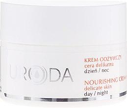 Parfémy, Parfumerie, kosmetika Výživný krém pro citlivou plet' - Uroda Nourishing Face Cream For Sensitive Skin