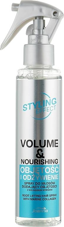 "Sprej na vlasy ""Objem a výživa"" - Joanna Styling Effect Volume & Nourishing Hair Spray"