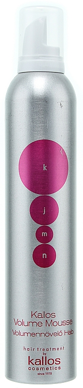 Pěna pro objem vlasů - Kallos Cosmetics Volume Mousse — foto N1