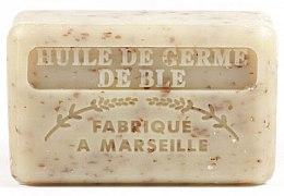 Parfémy, Parfumerie, kosmetika Marseille mýdlo s olejem z pšeničných klíčků - Foufour Savonnette Marseillaise Huile de Germe de Ble