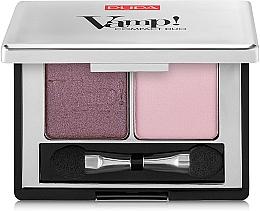 Parfémy, Parfumerie, kosmetika Dvojité kompaktní stíny - Pupa Vamp! Compact Duo Eyeshadow