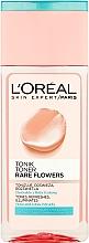 Parfémy, Parfumerie, kosmetika Čistící tonikum pro normální a smíšenou pleť - L'Oreal Paris Rare Flowers Tonic for Normal and Combinating Skin
