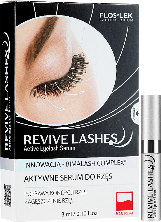 Sérum pro růst řas - Floslek Revive Lashes Eyelash Enhancing Serum