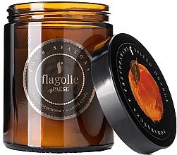 Parfémy, Parfumerie, kosmetika Vonná svíčka ve skle Pomeranč s kořením - Flagolie Fragranced Candle Spiced Orange