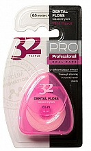 Parfémy, Parfumerie, kosmetika Dentální nit 32 Pearls PRO růžový - Modum 32 Perly Dental Floss
