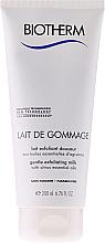 Parfémy, Parfumerie, kosmetika Jemné exfoliační mléko pro suchou pleť - Biotherm Body Lait De Gommage Gentle Exfoliating Milk