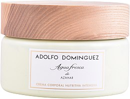Parfémy, Parfumerie, kosmetika Adolfo Dominguez Agua Fresca de Azahar - Tělový krém
