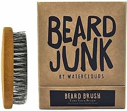Parfémy, Parfumerie, kosmetika Kartáč na vousy - Waterclouds Beard Junk Beard Boar Bristle Brush