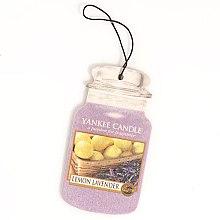 "Parfémy, Parfumerie, kosmetika Vůně ""Citron s levandulí"" - Yankee Candle Fluffy Lemon Lavender 2D Jar Classic"