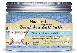 Koupelová sůl z Mrtvého moře s řeckou vůní - Nacomi Natural Greek Dead Sea Salt Bath — foto N2