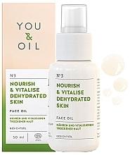 Parfémy, Parfumerie, kosmetika Pleťový olej Výživa a regenerace - You & Oil Nourish & Vitalise Dehydrated Skin Face Oil