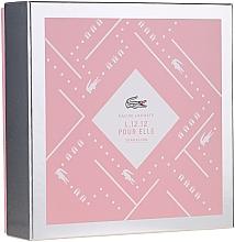 Parfémy, Parfumerie, kosmetika Lacoste Eau de Lacoste L.12.12 Pour Elle Sparkling - Sada (edt/90ml+sh/gel/150ml)