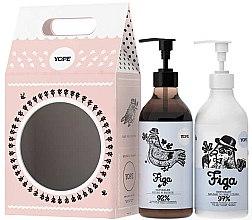 Parfémy, Parfumerie, kosmetika Sada - Yope Fig (soap/500ml + b/lot/300ml)