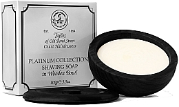 Parfémy, Parfumerie, kosmetika Mýdlo na holení v keramické misce - Taylor Of Old Bond Street Platinum Collection Shaving Soap