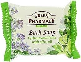 """Parfémy, Parfumerie, kosmetika Mýdlo """"Verbena a limetka s olivovým olejem"""" - Green Pharmacy"""