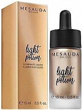 Parfémy, Parfumerie, kosmetika Luminizer - Light Potion Liquid Highlighter Mesauda