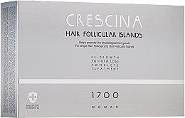 Parfémy, Parfumerie, kosmetika Komplex pro léčbu vypadávání vlasů pro ženy - Crescina Hair Follicular IslandRe-Growth+Anti-Hair Loss HFI 1700 Woman