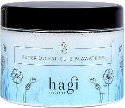 Parfémy, Parfumerie, kosmetika Pudr do koupele s chrpy - Hagi Bath Puder