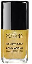 Parfémy, Parfumerie, kosmetika Lak na nehty - Gabriella Salvete Longlasting Enamel Nail Polish