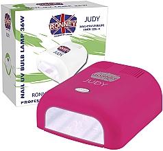 Parfémy, Parfumerie, kosmetika LED lampa na nehty, malinová - Ronney Profesional Judy UV 36W (GY-UV-230) Lamp