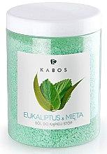 Parfémy, Parfumerie, kosmetika Sůl do koupele na nohy - Kabos Eucalyptus & Mint Foot Bath Salt